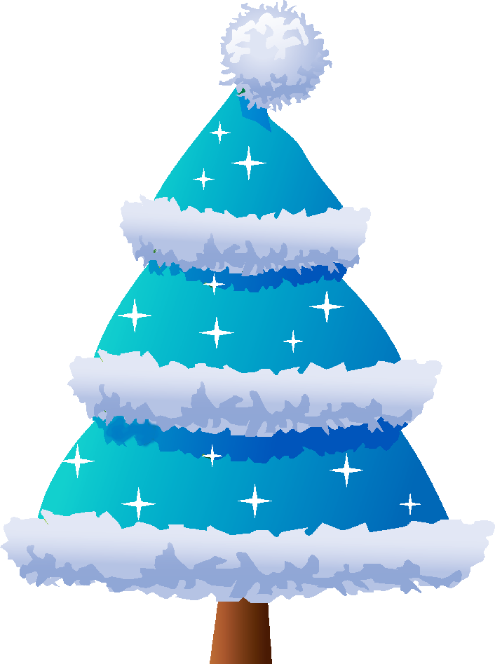 Christmas clipart blue graphic royalty free download BLUE CHRISTMAS TREE | CLIP ART - CHRISTMAS 2 - CLIPART | Pinterest ... graphic royalty free download