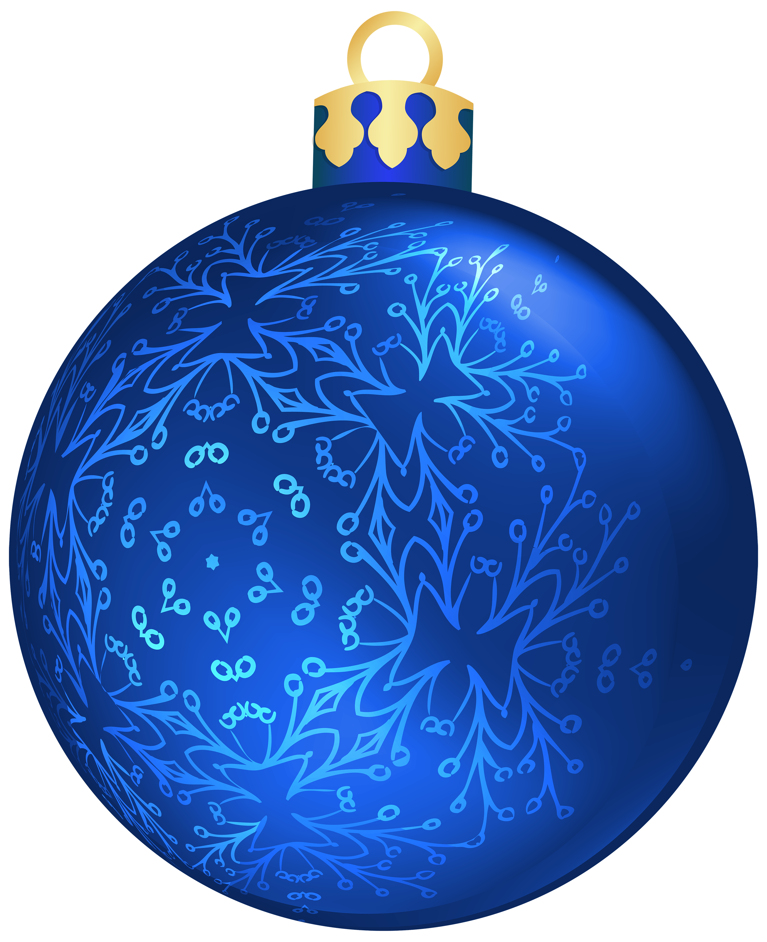 Christmas clipart blue svg library stock Blue Christmas Ball PNG Clipart - Best WEB Clipart svg library stock