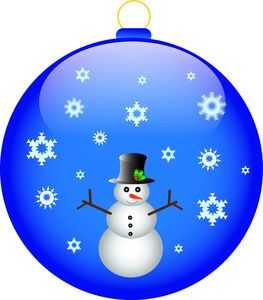Free christmas ornament clipart images jpg transparent library Christmas Ornament Clip Art | Free Ornament Clip Art Image - Snowman ... jpg transparent library
