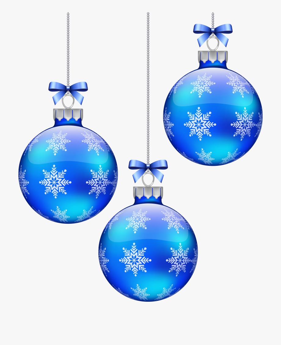 Blue christmas ornament clipart jpg library Blue Christmas Balls Decoration Png Image Gallery Ⓒ - Blue ... jpg library
