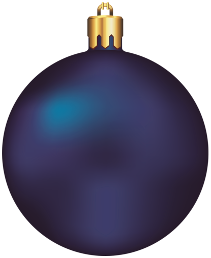 Blue christmas ornament clipart clipart free Transparent Dark Blue Christmas Ball Ornament Clipart | My Dark Blue ... clipart free