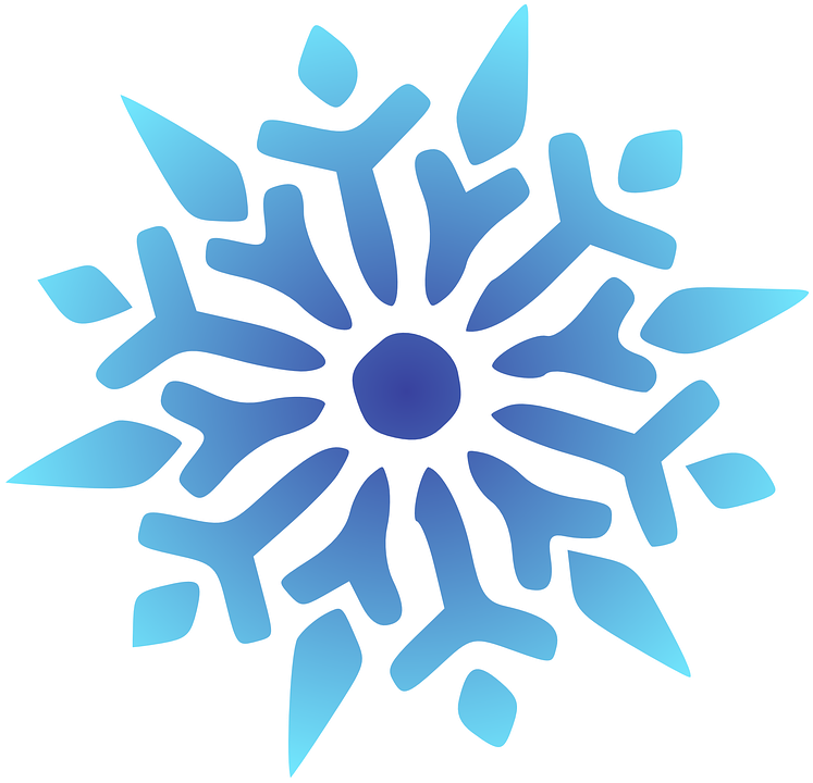 Blue christmas snowflake clipart free clip stock Collection of Christmas Snowflake Clipart | Buy any image and use it ... clip stock