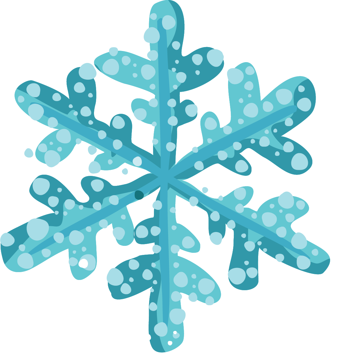 Snowflake clipart free banner transparent Free christmas snowflake clipart snowflakes for christmas - Clipartix banner transparent