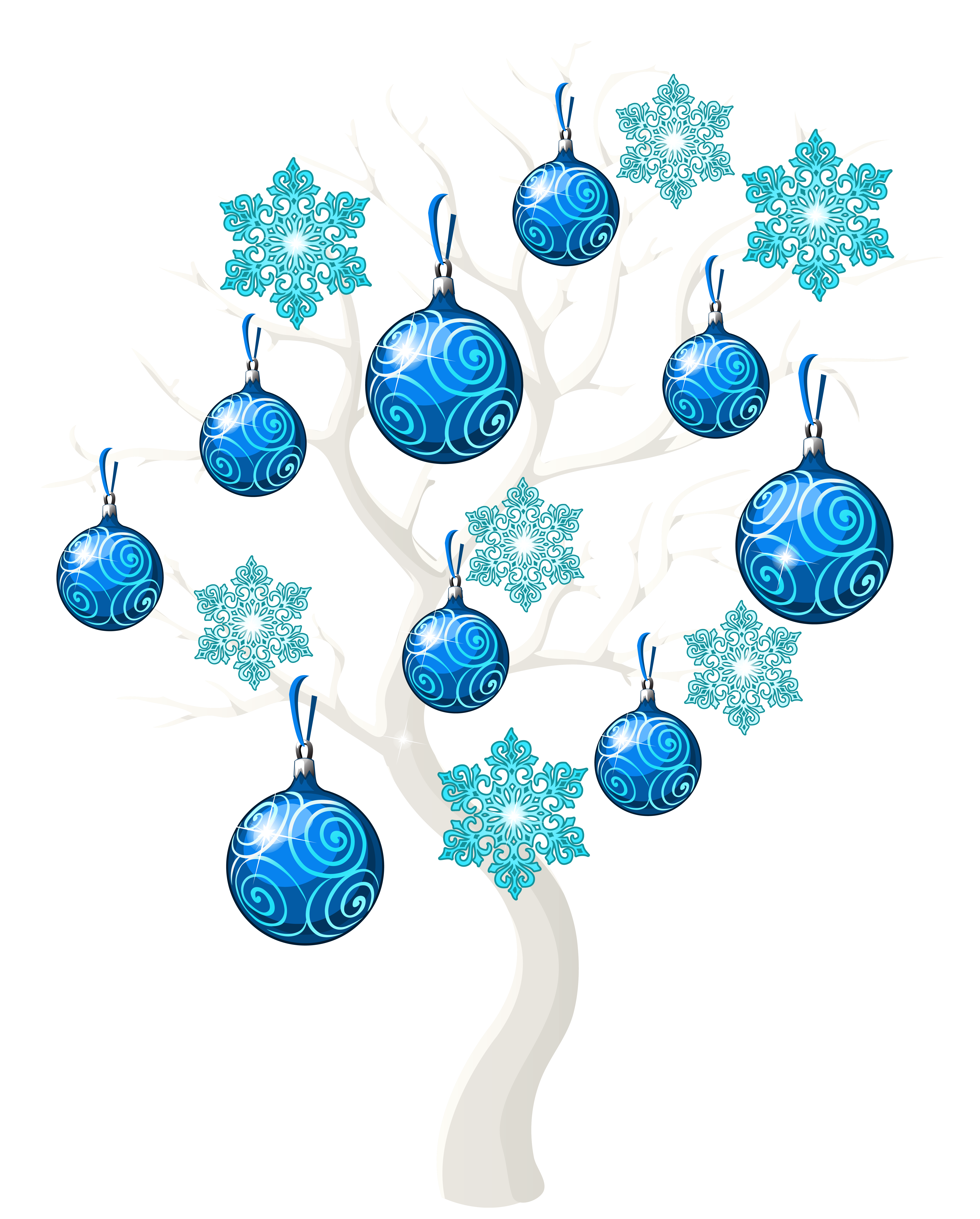 Blue tree clipart clip art free download Winter Christmas Tree PNG Clip Art Image | Gallery Yopriceville ... clip art free download