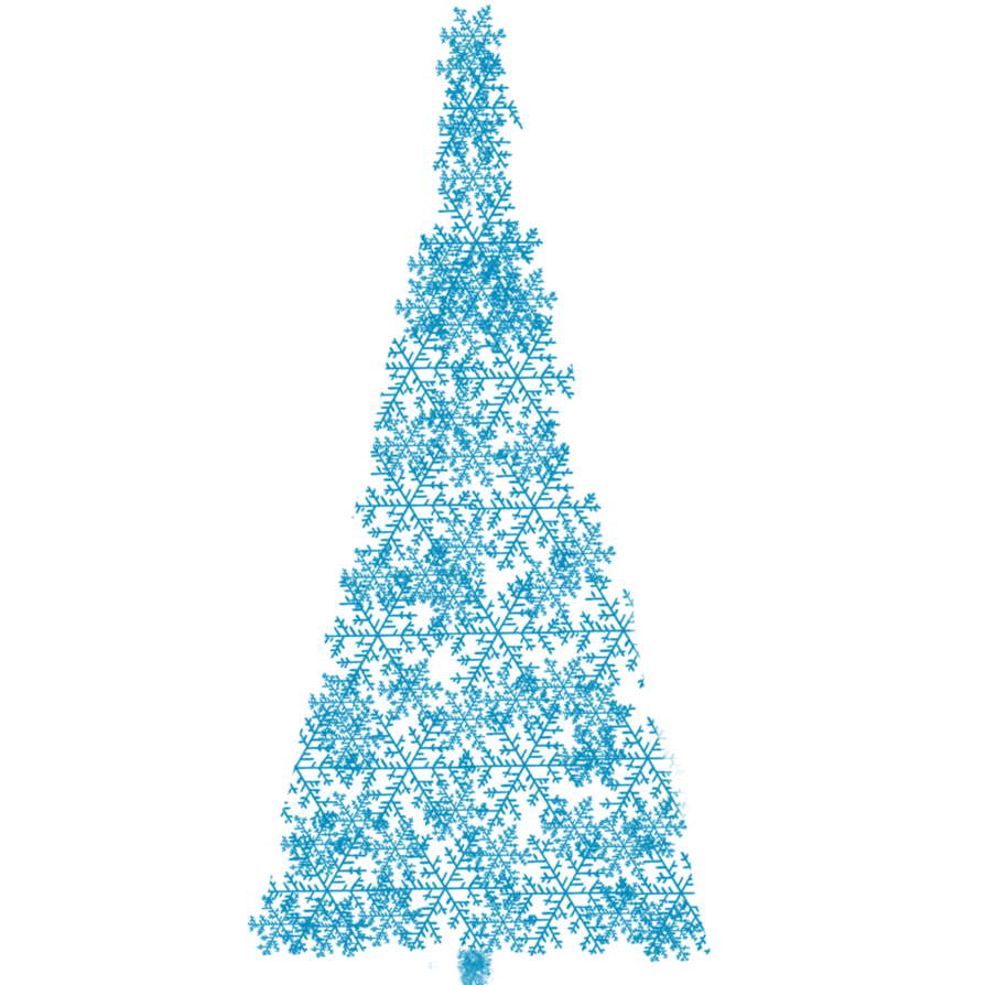 Blue tree clipart clip art library stock Christmas Tree Clipart by CinnamonCoffeeStudio on DeviantArt clip art library stock