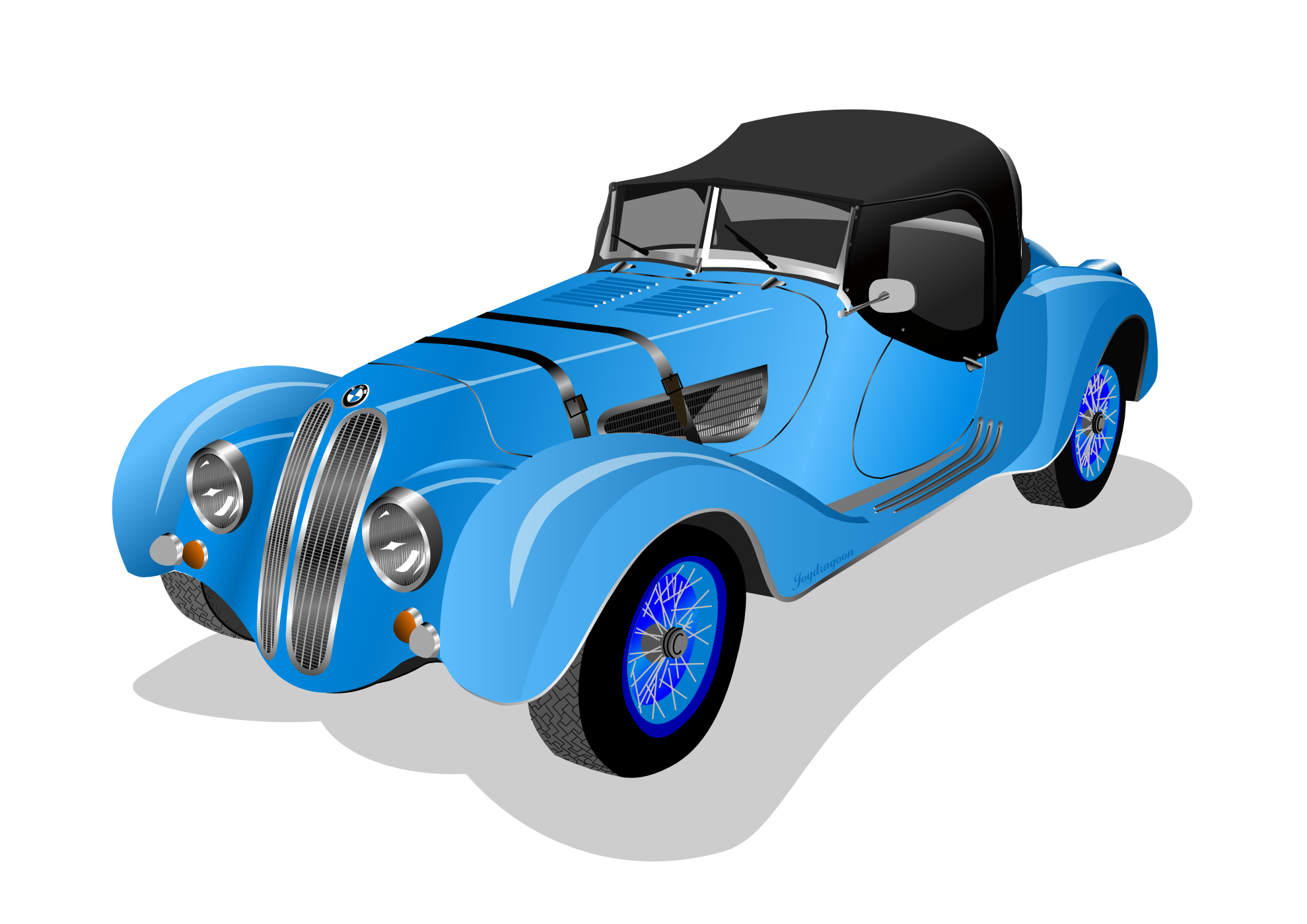 Blue classic car clipart royalty free clipartist.net » Clip Art » bmw 328 roadster 1938 2012 April ... royalty free