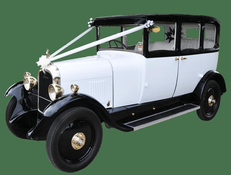 Blue classic car clipart clipart freeuse download Citroën Vintage Wedding Car transparent PNG - StickPNG clipart freeuse download