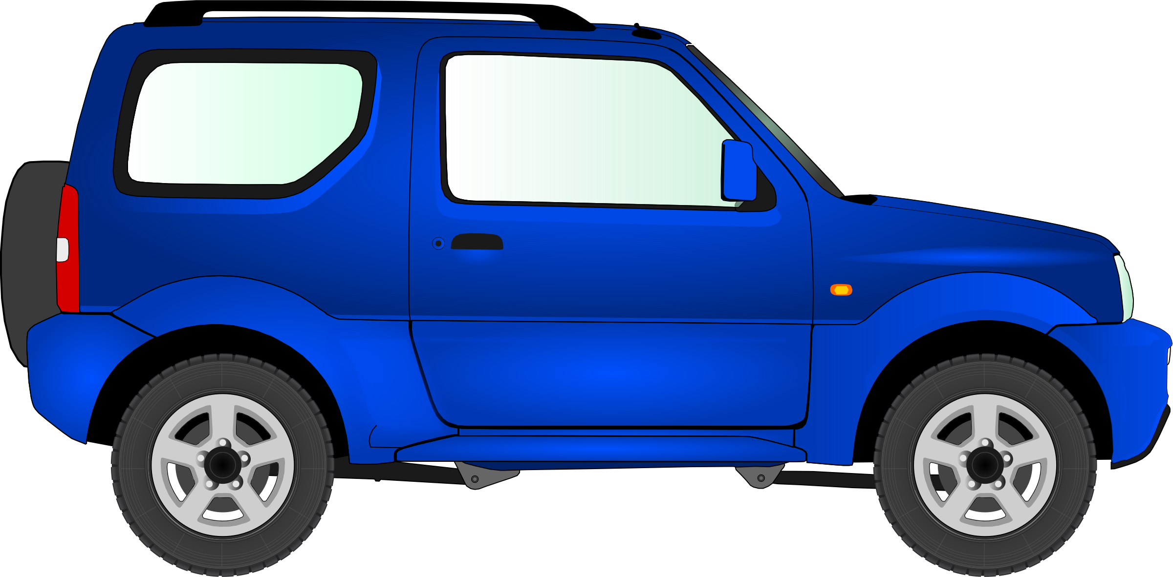 Blue clipart car freeuse Clipart - Car 15 (blue) freeuse