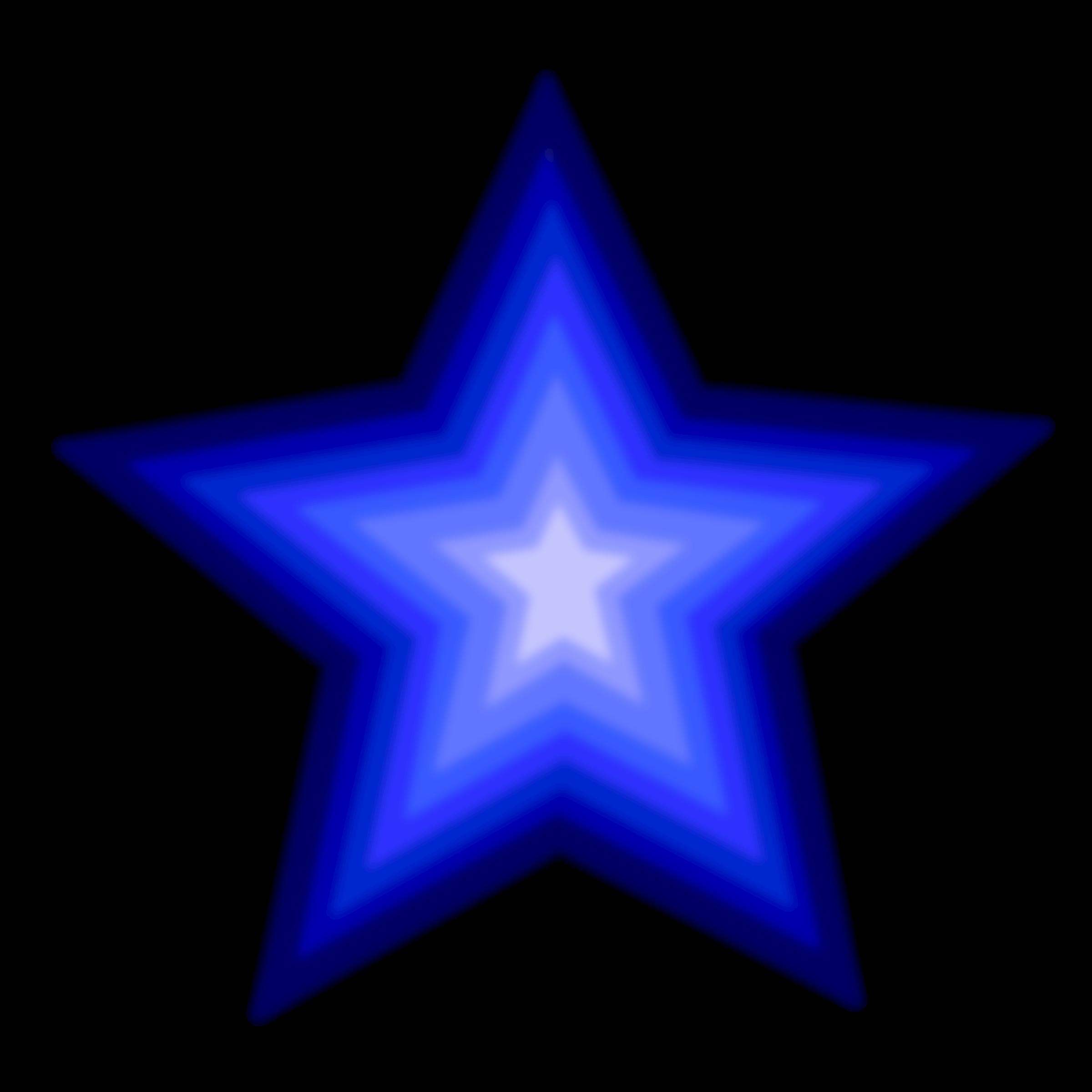 Blue clipart star jpg free Clipart - Stars (simple) 3 jpg free