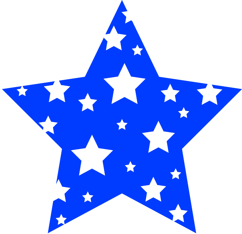 Star clipart blue image stock Red White And Blue Stars Clipart (52+) image stock