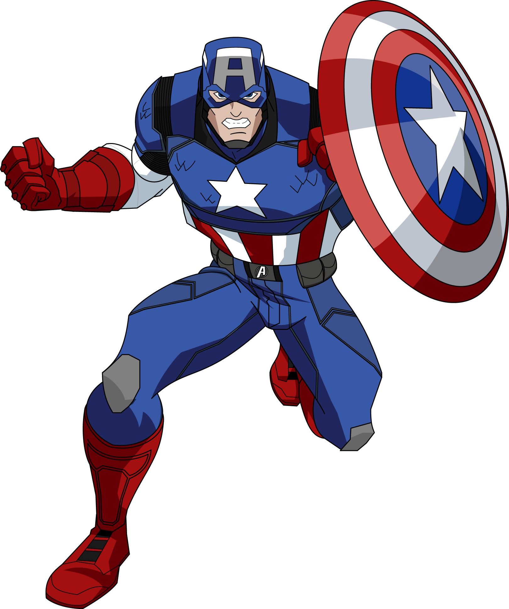 Free high resolution comic book clipart svg transparent download Captain America PNG Image - PurePNG | Free transparent CC0 PNG Image ... svg transparent download