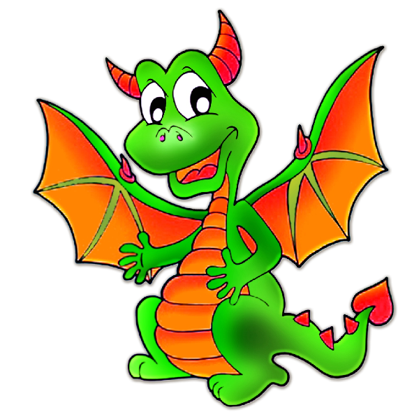 Book cartoon clipart picture library download Cute Dragons Cartoon Clip Art Images.All Dragon Cartoon Picture ... picture library download