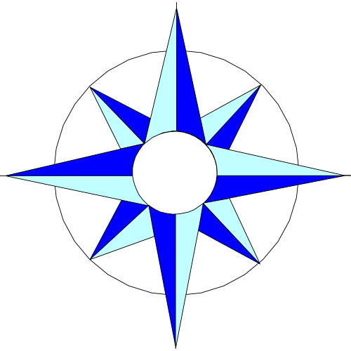 Blue compass rose clipart banner free stock Free Images Of Compass Rose, Download Free Clip Art, Free Clip Art ... banner free stock