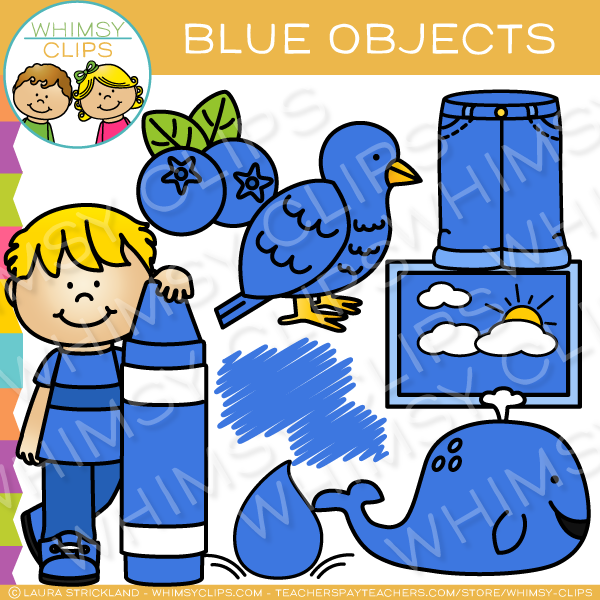 Blueobjects clipart