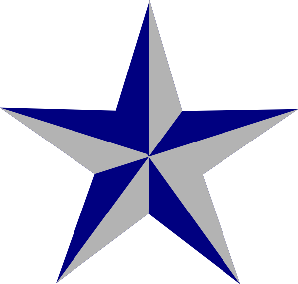 Star clipart free download png royalty free library Blue Star Clip Art at Clker.com - vector clip art online, royalty ... png royalty free library