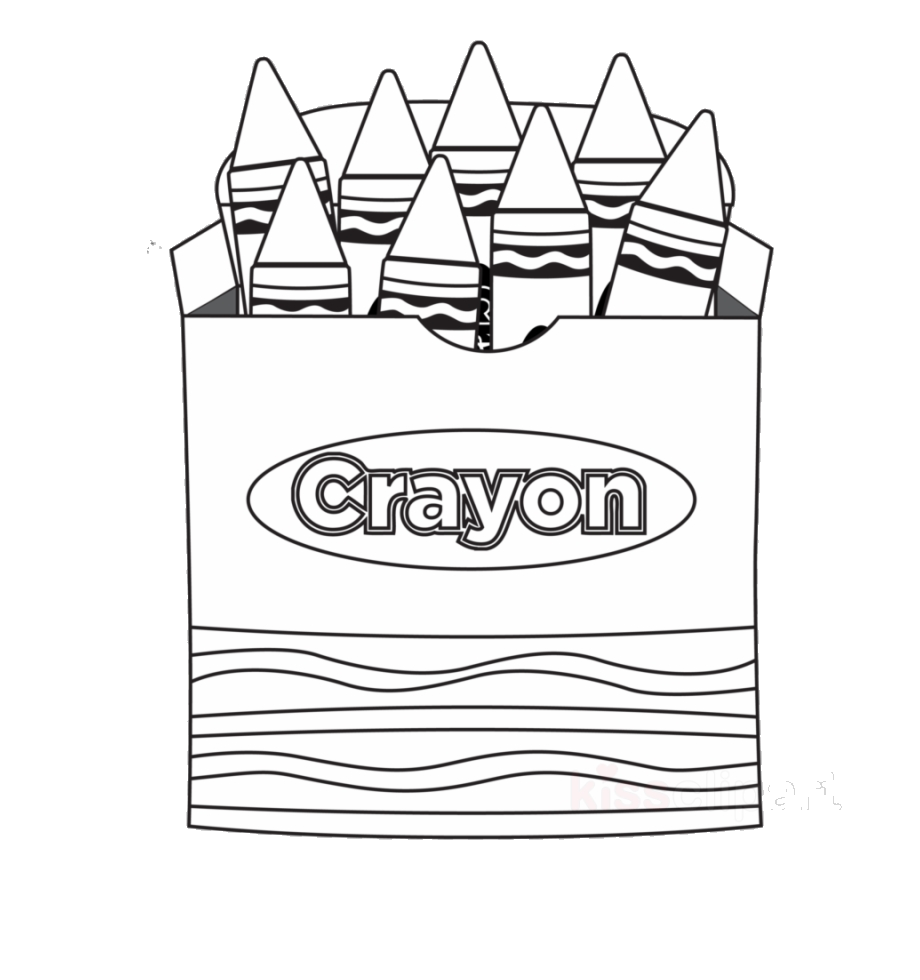 Blue crayon clipart black and white vector free Gray Crayon Clipart Coloring Book Clip Art Color Pencils Black And ... vector free