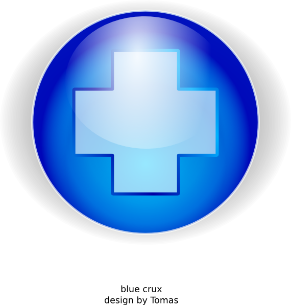 Free blue cross clipart clipart transparent download Blue Cross Clip Art at Clker.com - vector clip art online, royalty ... clipart transparent download