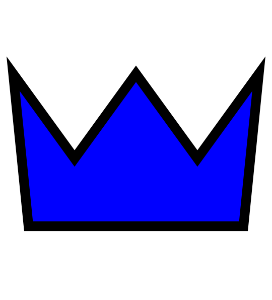 Blue prince crown clipart stock Crown Blue Clip Art at Clker.com - vector clip art online, royalty ... stock