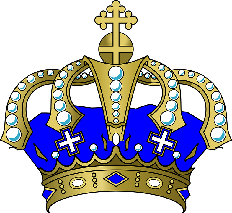 Blue crown clipart transparent background picture library download King's Crown PNG Transparent Image #24 - Free Transparent PNG Images ... picture library download