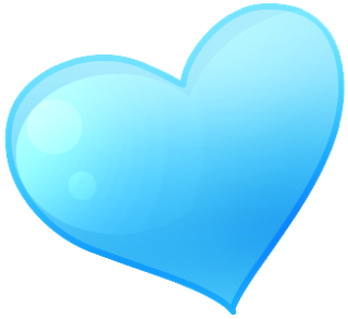 Blue cute hearts clipart clip stock Blue cute hearts clipart - ClipartFest clip stock