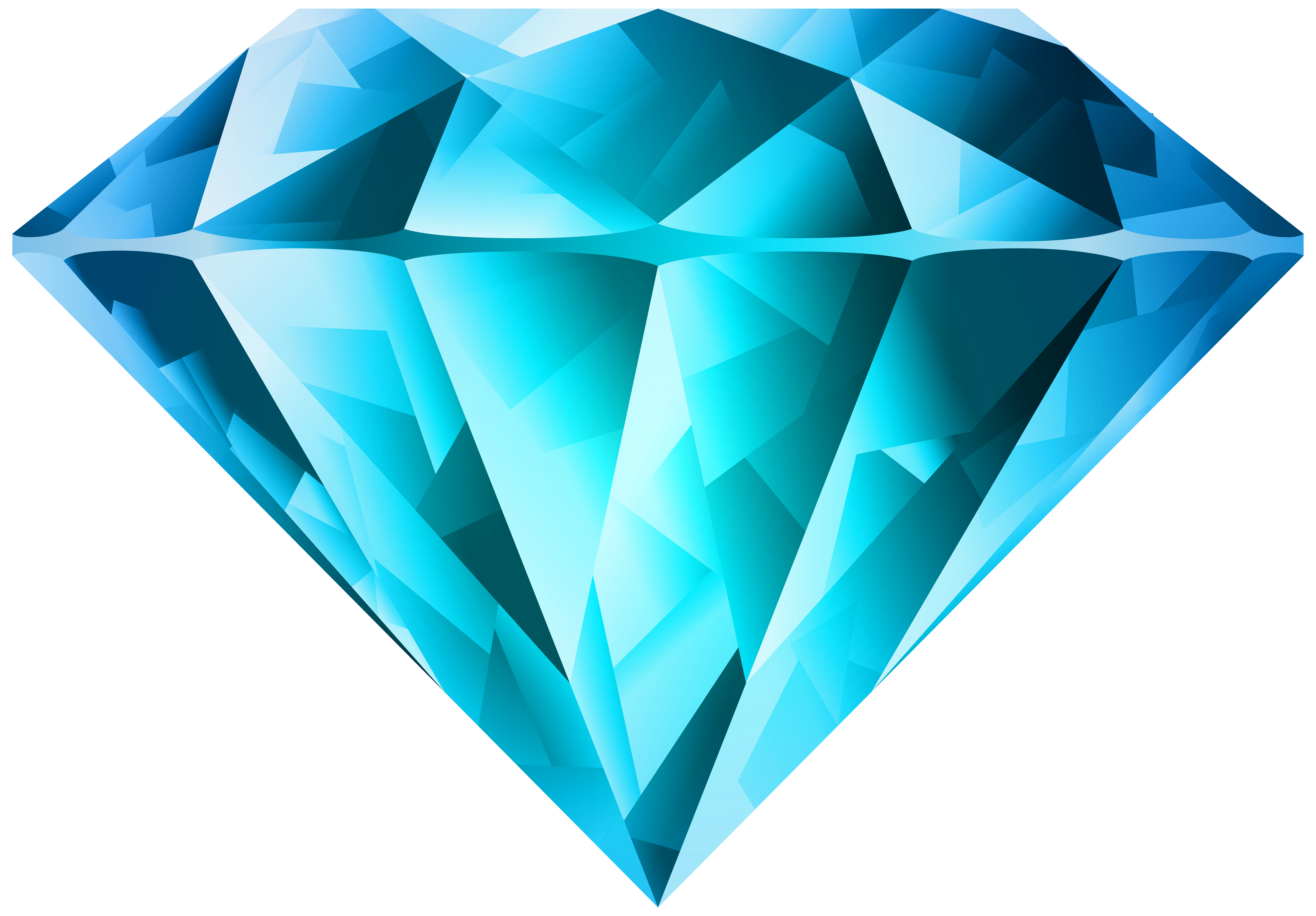Blue diamond clipart jpg Blue Diamond Transparent PNG Clip Art Image | Gallery Yopriceville ... jpg