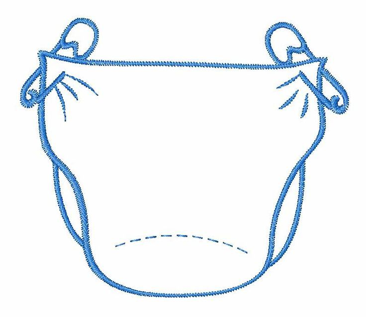 Blue diaper clipart jpg freeuse Blue diaper clipart 2 » Clipart Portal jpg freeuse