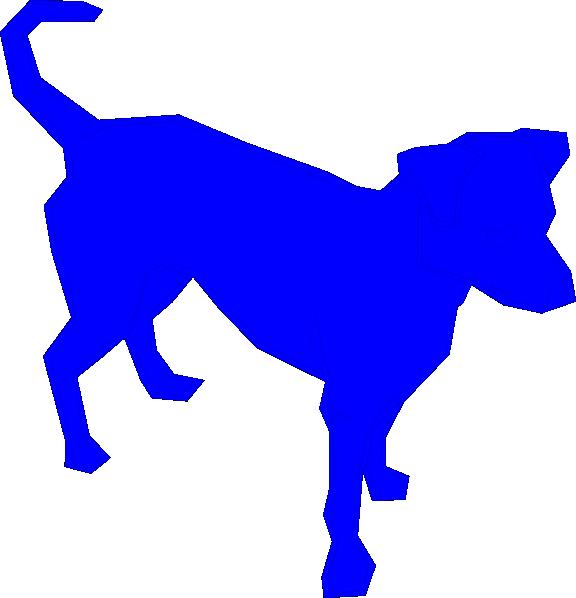 Dog Blue Clip Art at Clker.com - vector clip art online, royalty ... clip freeuse stock