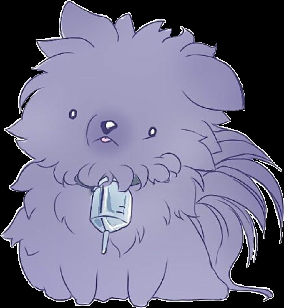 cute kawaii dog anime manga dmmd blue tumblr... png