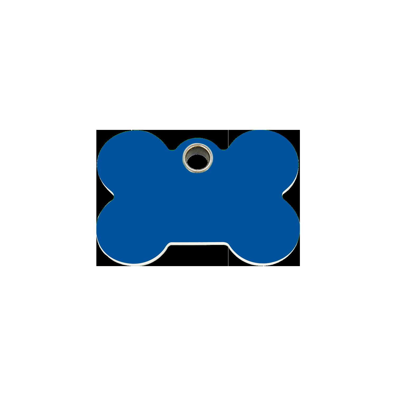 Red Dingo Plastic Tag Bone Dark Blue 04-BN-DB (4BNNS / 4BNNM / 4BNNL) clipart free