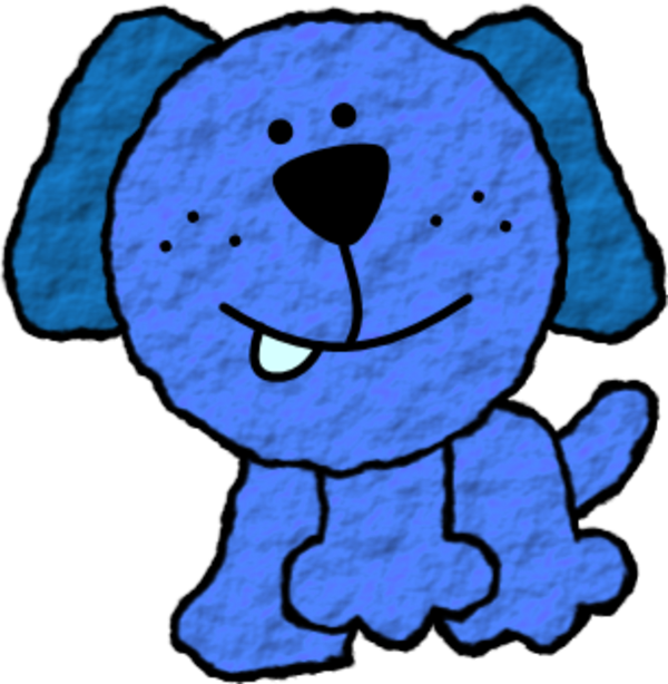 28+ Collection of Blue Dog Clipart | High quality, free cliparts ... clipart