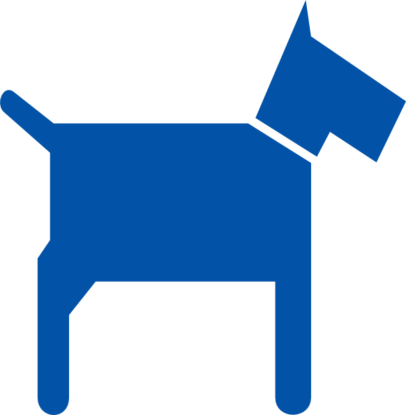 Blue Dog Clip Art at Clker.com - vector clip art online, royalty ... png stock