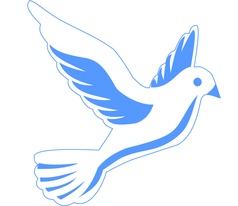 Blue dove with sun clipart banner royalty free stock Free Dove Clipart Images Black And White Photos【2018】 banner royalty free stock