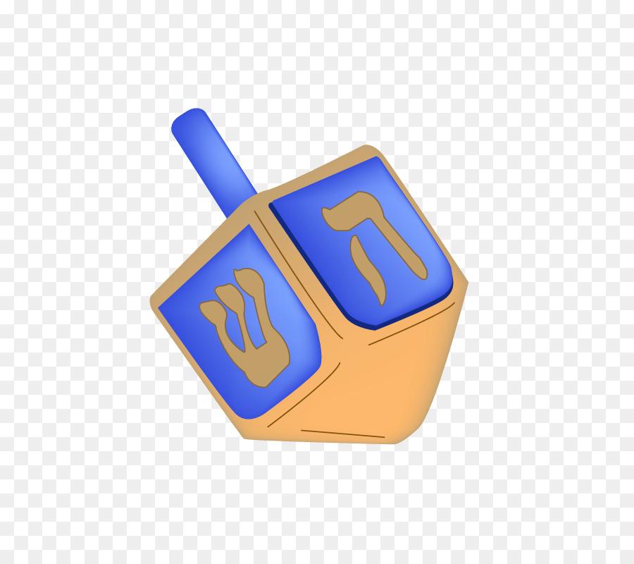 Blue dreadel clipart svg freeuse download Christmas Blue png download - 800*800 - Free Transparent DREIDEL png ... svg freeuse download