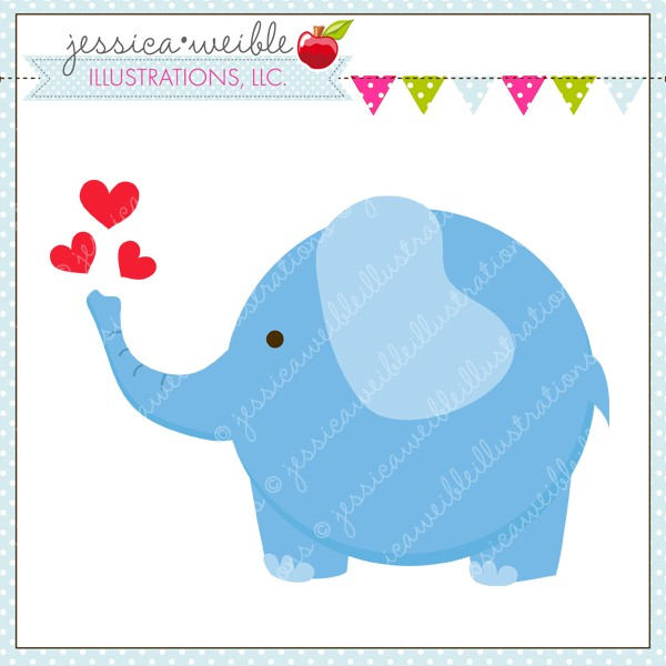Blue elephant clipart baby shower png freeuse Baby Shower Elephant Clip Art | Clipart Panda - Free Clipart Images png freeuse