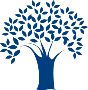 Blue family tree clipart vector free download Blue Tree Clip Art at Clker.com - vector clip art online, royalty ... vector free download