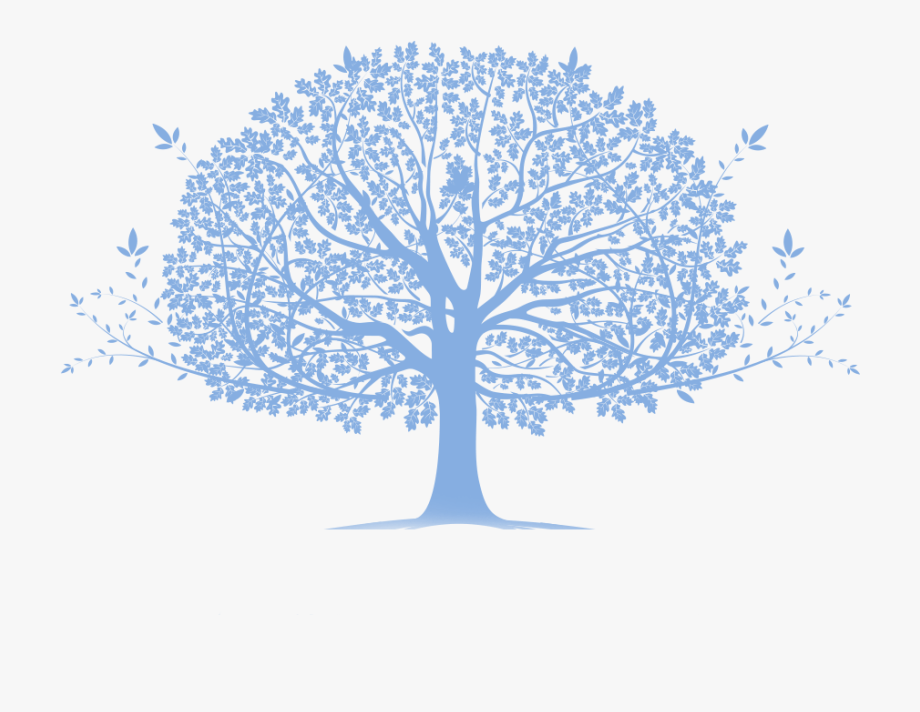 Blue family tree cliparts vector freeuse stock Blue Family Tree - Family Tree Transparent Background #1523621 ... vector freeuse stock