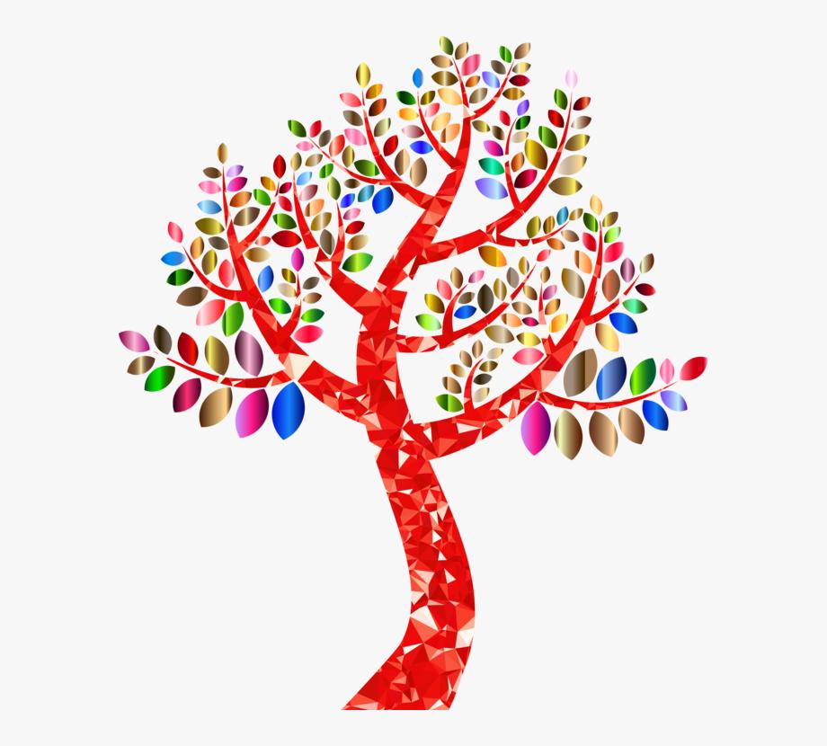 Blue family tree cliparts jpg free stock Family Tree Clipart Png - Rainbow Tree No Background #127364 - Free ... jpg free stock
