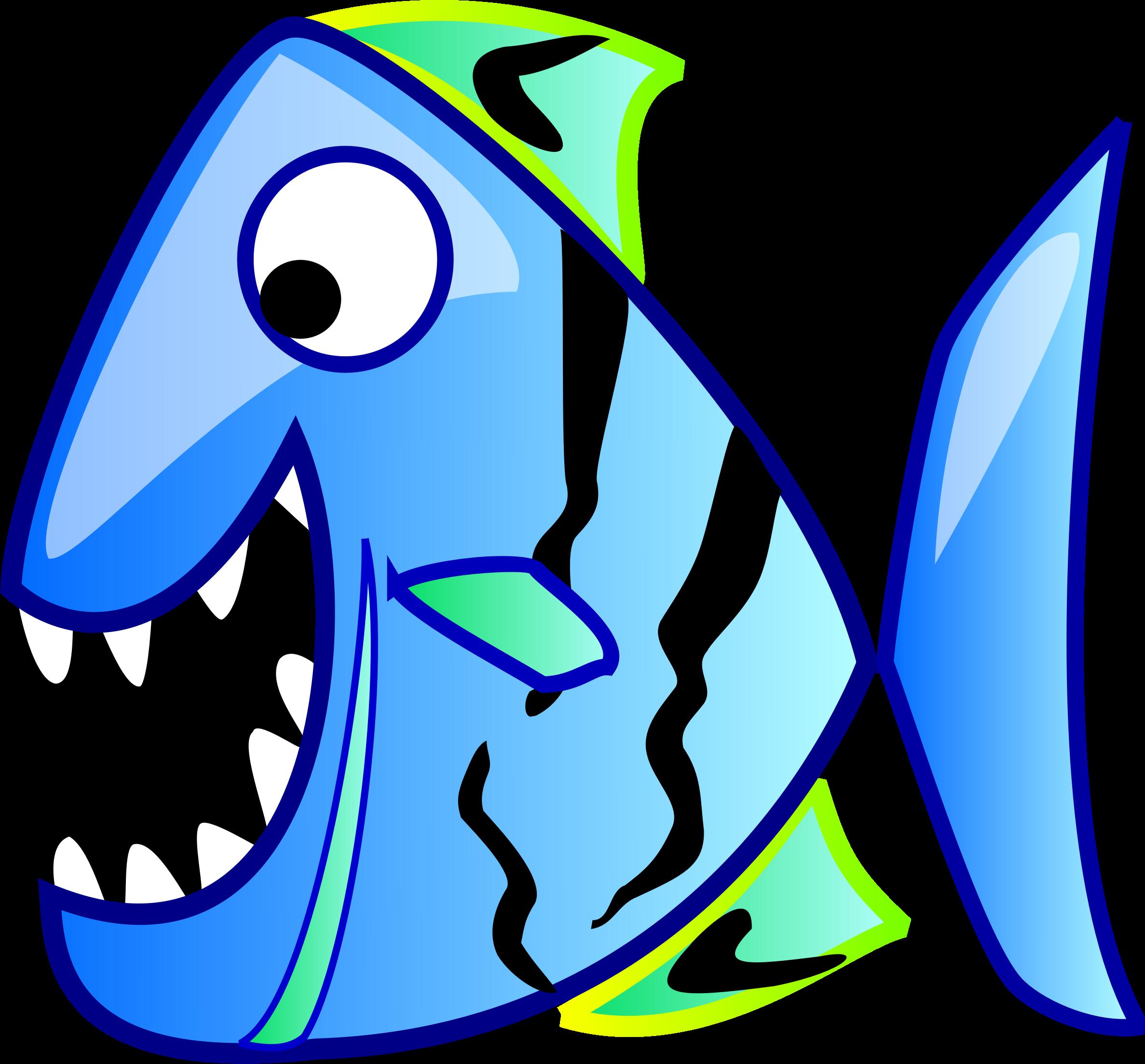Blue fish clipart image Clipart - bluefish image