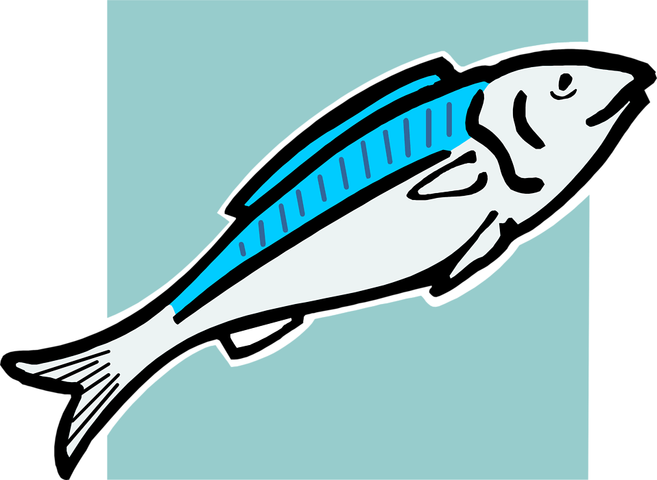 Image of a fish clipart banner freeuse Fish | Free Stock Photo | Illustration of a blue fish | # 4339 banner freeuse
