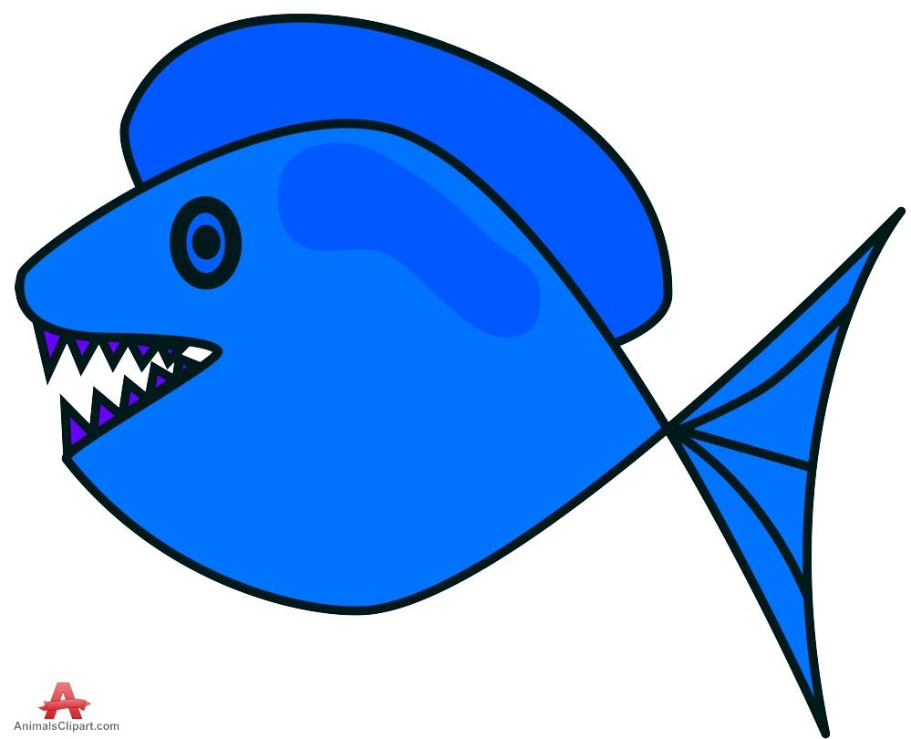 Blue fish clipart design stock Sharp Teeth Clipart | Free download best Sharp Teeth Clipart on ... stock