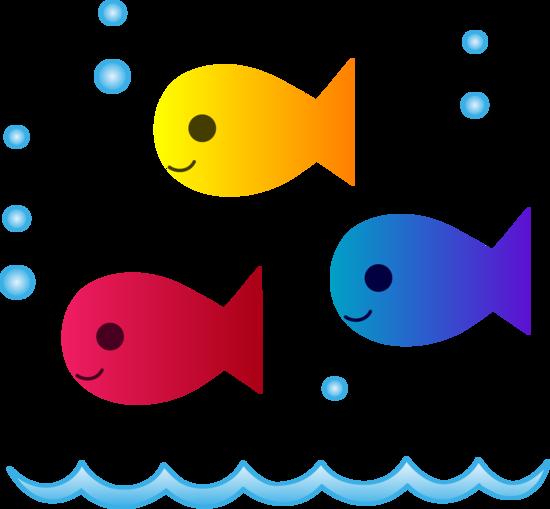 Blue fish clipart design picture cute fish clip art | Red Blue Yellow Fishies Clip Art | Arted - Clip ... picture