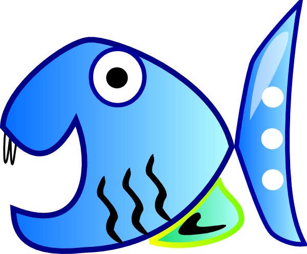 Blue fish clipart design png library library Free Blue Fish Clipart, Download Free Clip Art, Free Clip Art on ... png library library