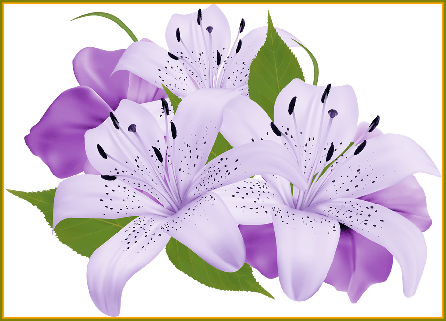 Blue flower bouquet clipart jpg free Appealing Purple Decorative Flowers Png Clipart Ogrod Picture Of ... jpg free