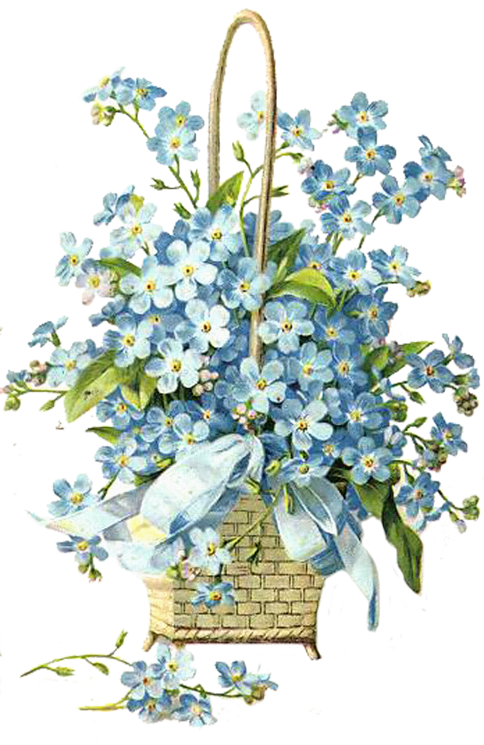 Blue flower bouquet clipart png freeuse stock http://img-fotki.yandex.ru/get/4407/valenta-mog.197 ... png freeuse stock