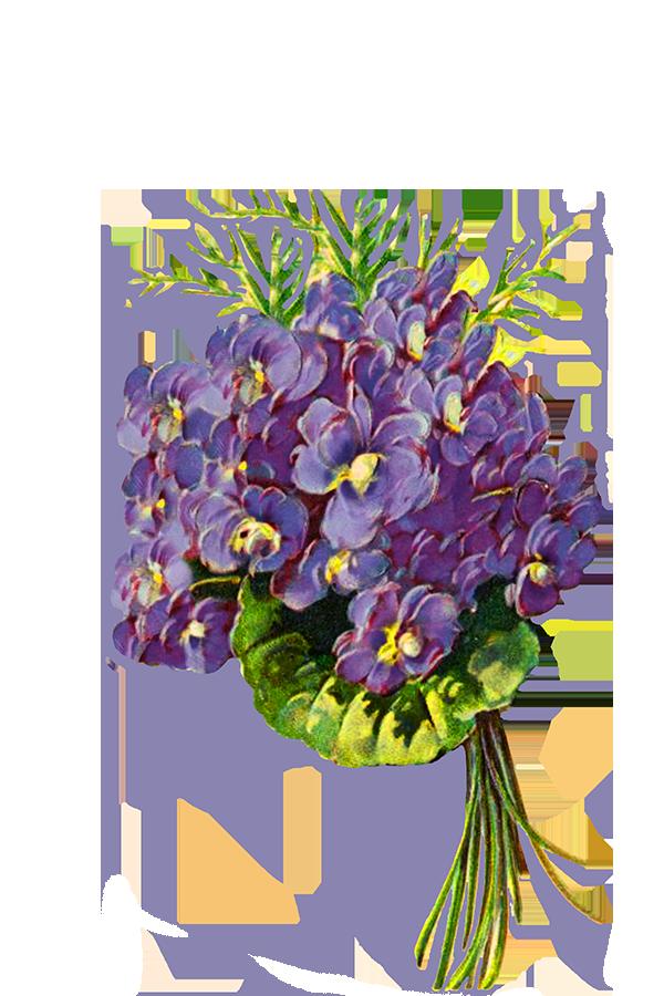 Blue flower bouquet clipart clip library stock Digital Scrapbooking Flowers clip library stock