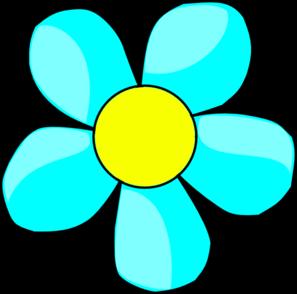 Blue flower clipart images image transparent library Sky Blue Flower Clip Art at Clker.com - vector clip art online ... image transparent library