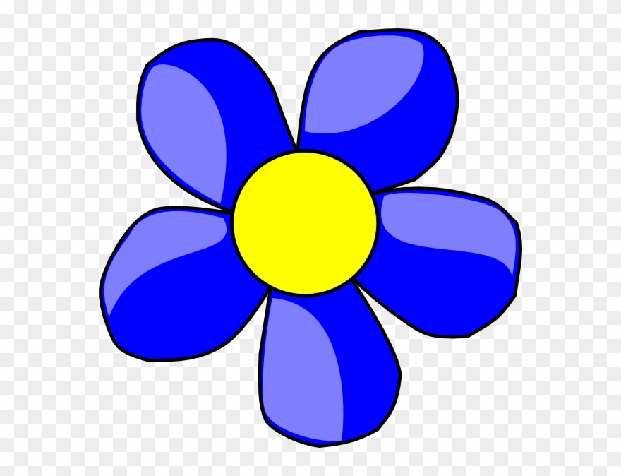 Blue flower clipart images clip art royalty free download Banner Black And White Download Blue Flower Clipart - Flowers ... clip art royalty free download