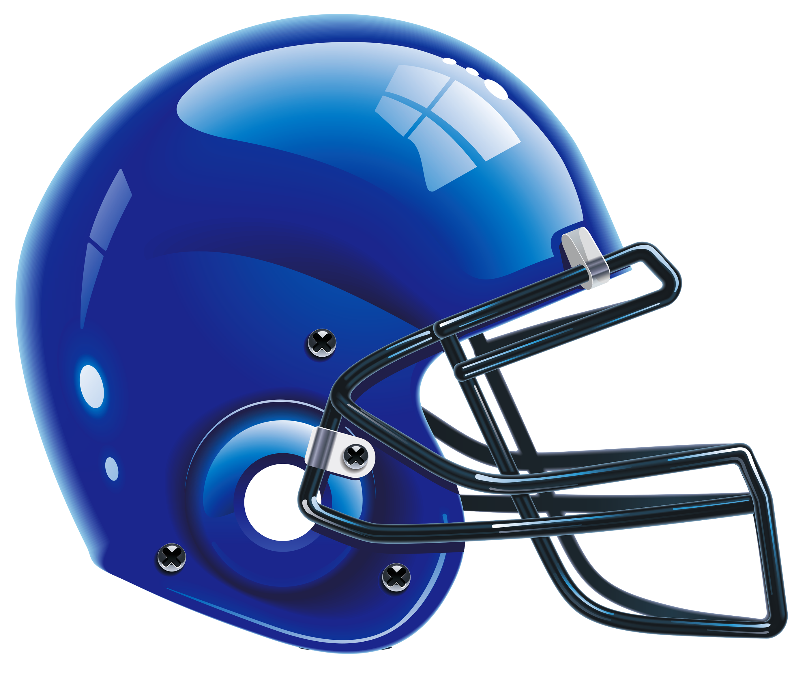 Football helmets clipart free freeuse download Blue Helmet PNG Clip Art Image | Gallery Yopriceville - High ... freeuse download
