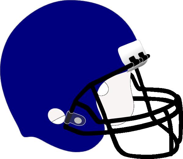 Blue clip art at. Football helmet clipart