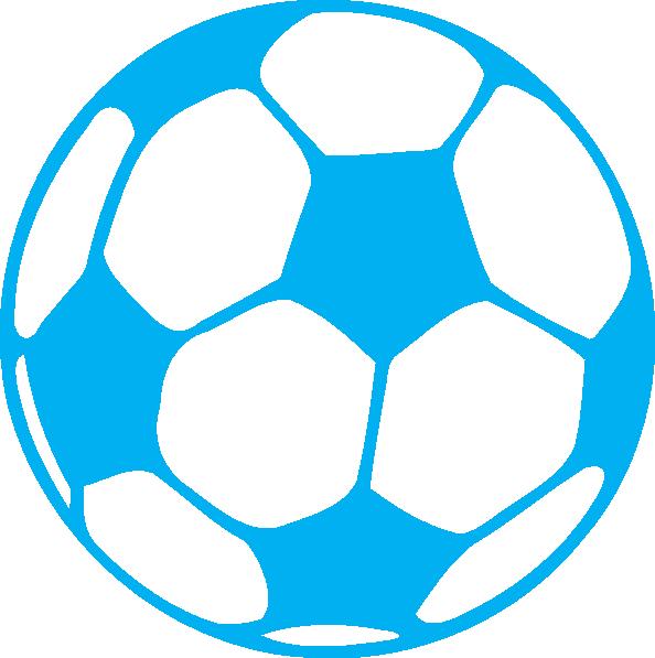 Blue Football Clip Art at Clker.com - vector clip art online ... clip art freeuse